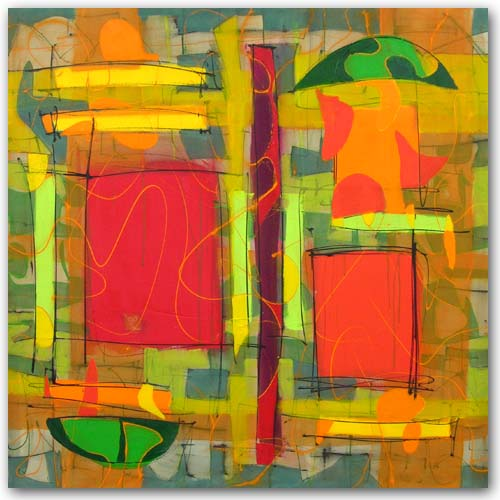 open door painting. Abstract Art: Open Door Painting